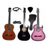 Guitarra Electroacustica Cable Forro Pua Marca Aire Artesana