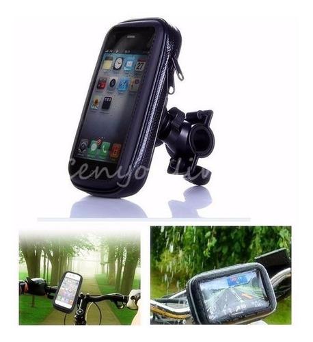 c229af0d3fb Soporte Celular Bicicleta Extragrande iPhone 6 Plus/lumina