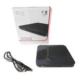 LG Ultra Slim Portable Dvd Usb Externo Para Tv-pc-portatil