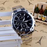 Reloj Acero Para Hombre M&h - Detal Y Por Mayor