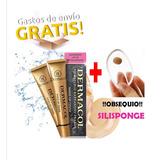 Base Dermacol Make-up Envio Gratis + Silisponge Maquillaje