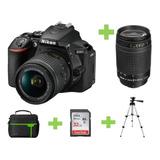 Camara Nikon D5600 24 Mp +32gb+bolso+70-300 Af-p +tripode
