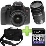 Cámara Canon T6i + 32gb +lente Canon 75-300 Obsequio Maleta