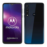 Motorola One Macro 64gb Triple Camara Huella Ram 4gb