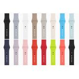 Pulso Apple Watch En Silicona 42mm Y 38 Mm Varios Colores