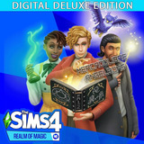 Los Sims 4 Deluxe Edition Act. Sept 2019 Realm Of Magic Pc