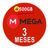 Cuentas Premium Mega 90 Dias 3 Meses Oficial 500gb Mensual