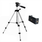 Trípode Profesional 3111 / 106cm + Estuche + Clip Celular