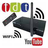 Decodificador Tdt Con Wifi+ Antena +control + Cables