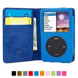 Snugg8482; Amplificador Ipod Classic Flip Case; (cuero Azul