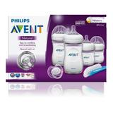 Teteros Avent Naturals Bebe Set 6 Piezas Anti-gases Tetero !
