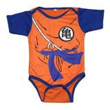 Bodie Body Mameluco Para Bebe Diseño Superheroes Goku