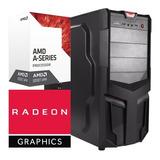 Torre Cpu Gamer A6 9500 Radeon R5 1tb 8gb Pc Wifi Gratis
