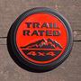Emblema Redondo Jeep Rubicon Liberty Patriot Trail Rated 4x4 Jeep Patriot