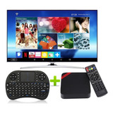 Tv Box Convierte En Smart Tv  Ram 2gb Rom 16gb + Teclado Air