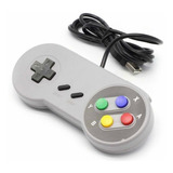 Control Snes Usb - Nintendo Para Pc Mac Raspberry Gratis Dvd