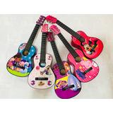 Guitarras Niñas Hasta 4 Años + Forro Nuevos Diseños
