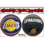 Balon Spalding Lakers Basketball Baloncesto Jordan Nike
