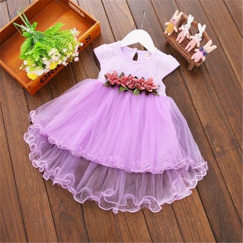 d1393a9a4 Vestido Elegante Bebe-vestido De Bautizo-vestido Fiesta Niña