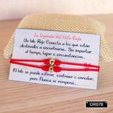 Pulsera Hilo Rojo - Oro Laminado 18k Olb006