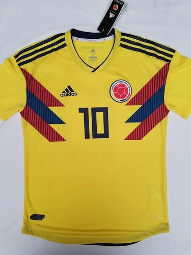 7b6331d04 Camiseta De Fútbol Selección Colombia Mundial Rusia 2018