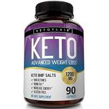 Keto Diet Pills 1200 Mg Advanced Weight Loss Ketosis 90 Caps