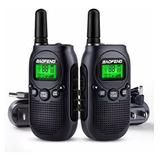Radios De Comunicacion Baofeng Bf T3 Niños