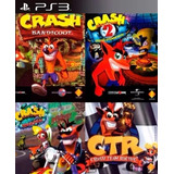 Crash Ps3 Combo 4 Juegos En Uno Formato Digital Ps3 Regalado