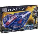 Halo Mega Bloks Set Nave Covenant Seraph Armable + 3 Figuras