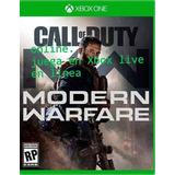 Call Off Duty Modern Warfare  Xbox One