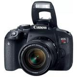 Camara Canon T7i 18-55mm Is Stm  24.2 Mp Wifi Full Hd 30fps