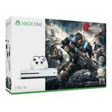 Microsoft Xbox One S 1tb Edición Gears 4 Consola De Juegos