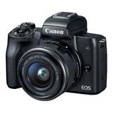 Cámara Canon Eos M50 24 Mpx 15-45 Is Video 4k +32gb