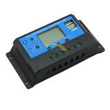 Controlador Regulador De Carga Panel Solar 20a Pwm 12v/24v