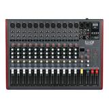 Mixer Pro Dj Ch12 Usb Mezclador Bluetooth Consola Pasiva