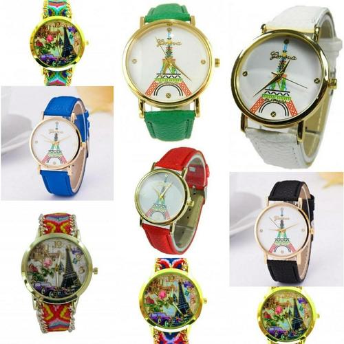 94b435126e36 Reloj Tejido Torre Eiffel Al Por Mayor Y Detal Sasmon