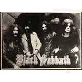 Afiche Black Sabath 100 Cm X 70 Cm