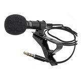 Micrófono De Solapa Para Celular Entrada 3.5 Mm