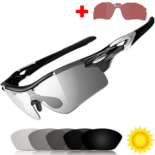 Gafas Fotocromaticas Bicicleta Rockbros Transitions Ciclismo 58507936aa4d