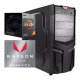 Torre Cpu Gamer Ryzen 5 3400g Vega 11 1tb 8gb Pc Wifi Gratis