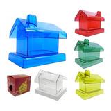 Alcancia Casa Personalizada Incluye Caja Publicitaria