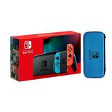 Nintendo Switch Neon  Nueva Sellada + Obsequio   Estuche