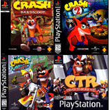 Pack Crash (incluye Crash Bandicoot 1 2 3 Ctr) Ps3 Digital