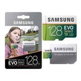 Micro Sd Samsung 128gb Evo Select 4k U3 100mb( Envío Gratis)