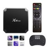 Combo Tv Box X96 Mini 2gb Ram 16g Rom + Mini Teclado + Envio