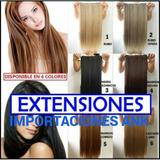 Promo !! Extensiones De Cabello Seminatural 65cm Largas