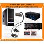 Cable Para Videobeams Vga Y Usb A Dvi 30+5 Computoys Zdvi10