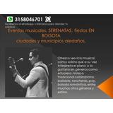 Serenatas En Bogota Fiestas Servicios Musicales Eventos