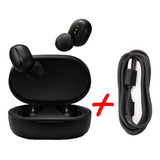 Xiaomi Redmi Airdots Bluetooth Originales + Cable De Carga