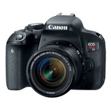 Cámara Canon T7i Kit 18-55 Is Stm 24,2mpx Wifi Full Hd.